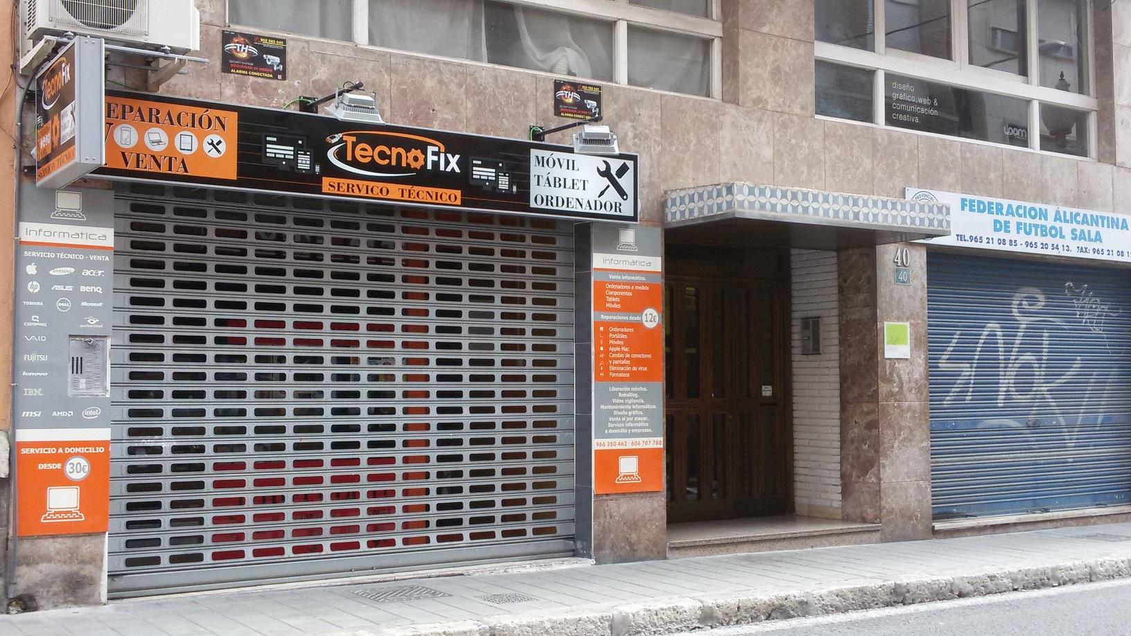 Tecnofix en Padre Mariana 40, Alicante